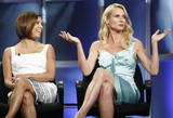 HQ celebrity pictures Eva Longoria and Nicollette Sheridan