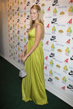 Petra Nemcova shows huge cleavage in green dress at benefit for the Prince Albert of Monaco Foundation during the 61st International Cannes Film Festival