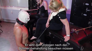 Domina Bizarre: Roman House Slaves - Masturbation Punishment 3