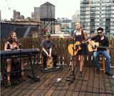 Aly & AJ Michalka - Billboard roof session in NYC x1 (July 10th, 2013)