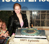 Sofia Vassilieva cake cutting celebration for 'Medium' 100th episode held at Manhattan Beach August 27th 2009 x29HQ