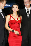 "Zhang Ziyi promotes the Mercedes-Benz SLK series sedan at ""Auto China 2008"", Beijing China, April 20"